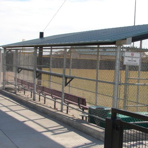 Baseball Fencing Oak Grove Dugout