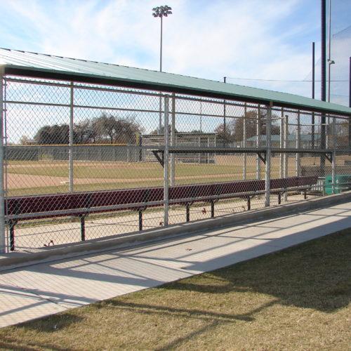 Baseball Fencing Oak Grove Dugout2