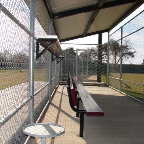 Baseball Fencing Oak Grove Dugout3