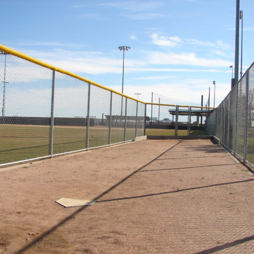Baseball Fencing Oak Grove Pitchers Bullpen