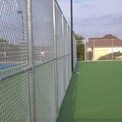 Tennis Court Fence Great Hills 4