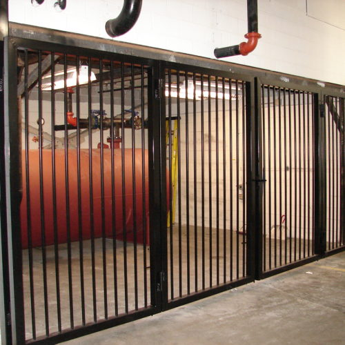 11_Warehouse Custom Bi-Fold Gate