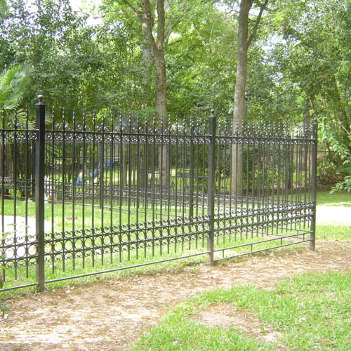 11c_Custom Iron Scrollwork Fence