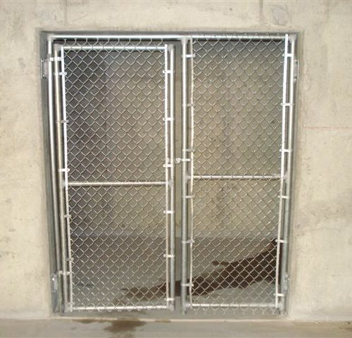 12_Storage Chain Link Walk Gate