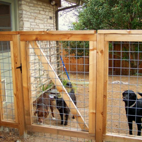 12_Welded Wire Bull Panel Walk Gate