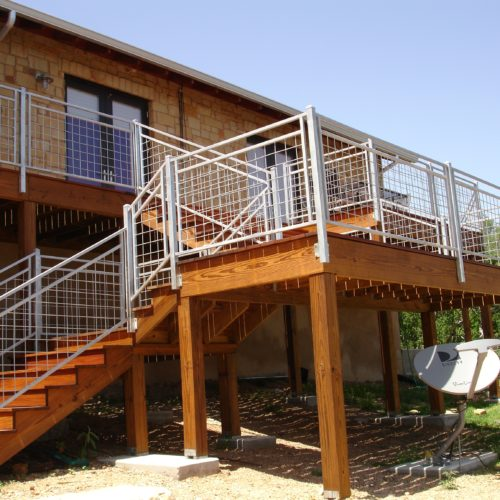13b_Welded Wire Deck Railing