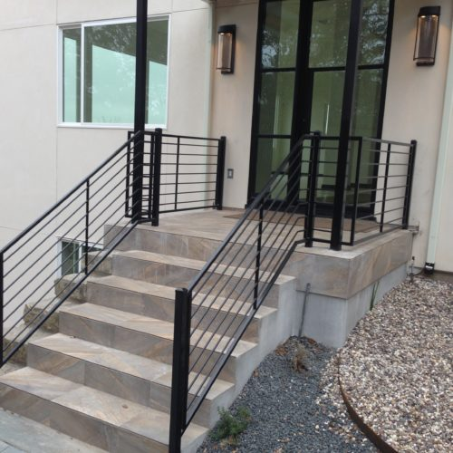 14_Contemporary Stair Railing
