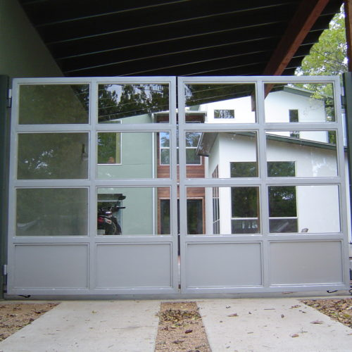 15b_Contemporary Carport Gate