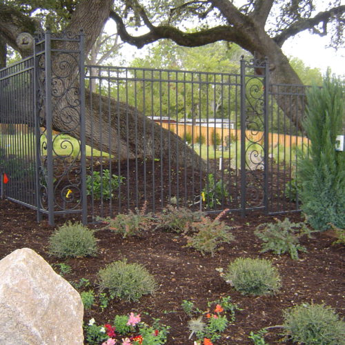 19_Custom Scrollwork Iron Fence