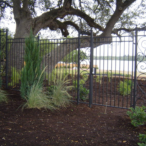 20_Custom Scrollwork Iron Fence