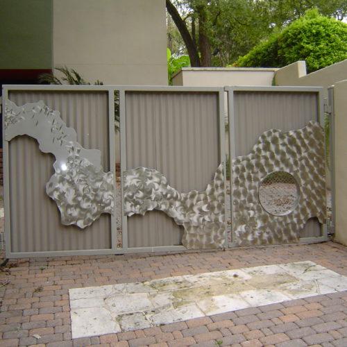 21_Contemporary Custom Driveway Gate