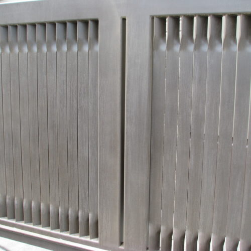 4d_Contemporary Louver Slide Gate