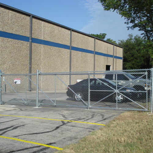 5_Cantilever Chain Link Gate