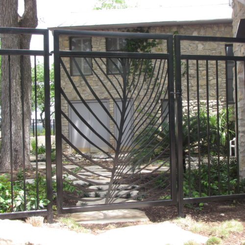 5_Comptemorary Iron Walk Gate
