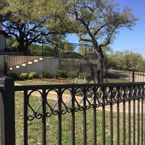 5_Custom Scroll Picket Fence