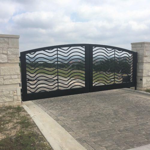 6_Aluminum Custom Driveway Gate