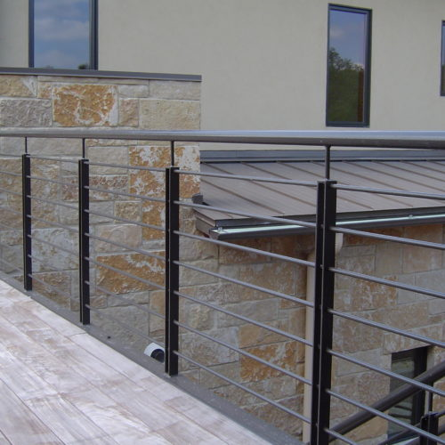6_Contemporary Iron Railing