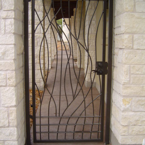 6c_Custom Breezeway Gate
