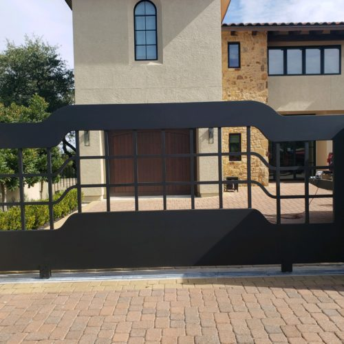 7_Aluminum Contemporary Slide Gate