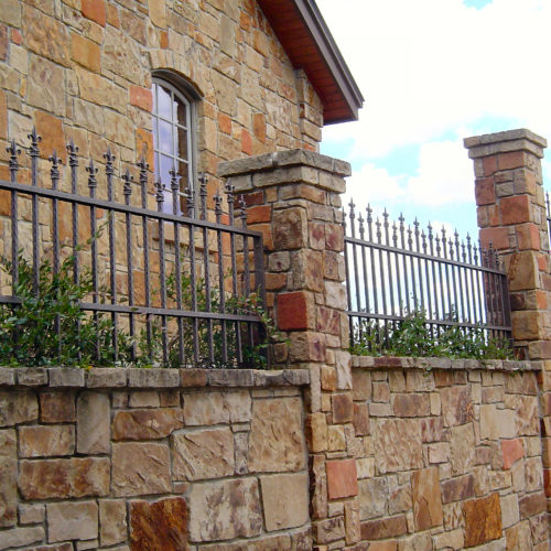 7_Custom Iron Finial Fence
