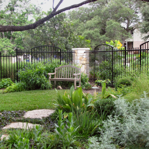9_Custom Iron Arched Fence
