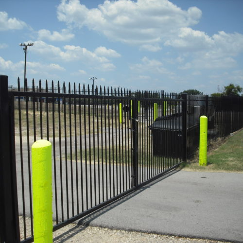 Commercial 2 Rail Pressed Spear Iron 6 Ft_Gates