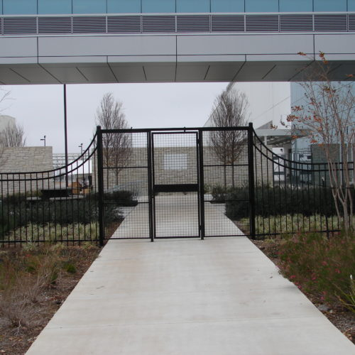 Commercial 3 Rail Custom Access Control Austin Samsung Facility2