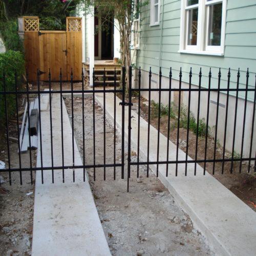 Welded Driveway Gate Finials