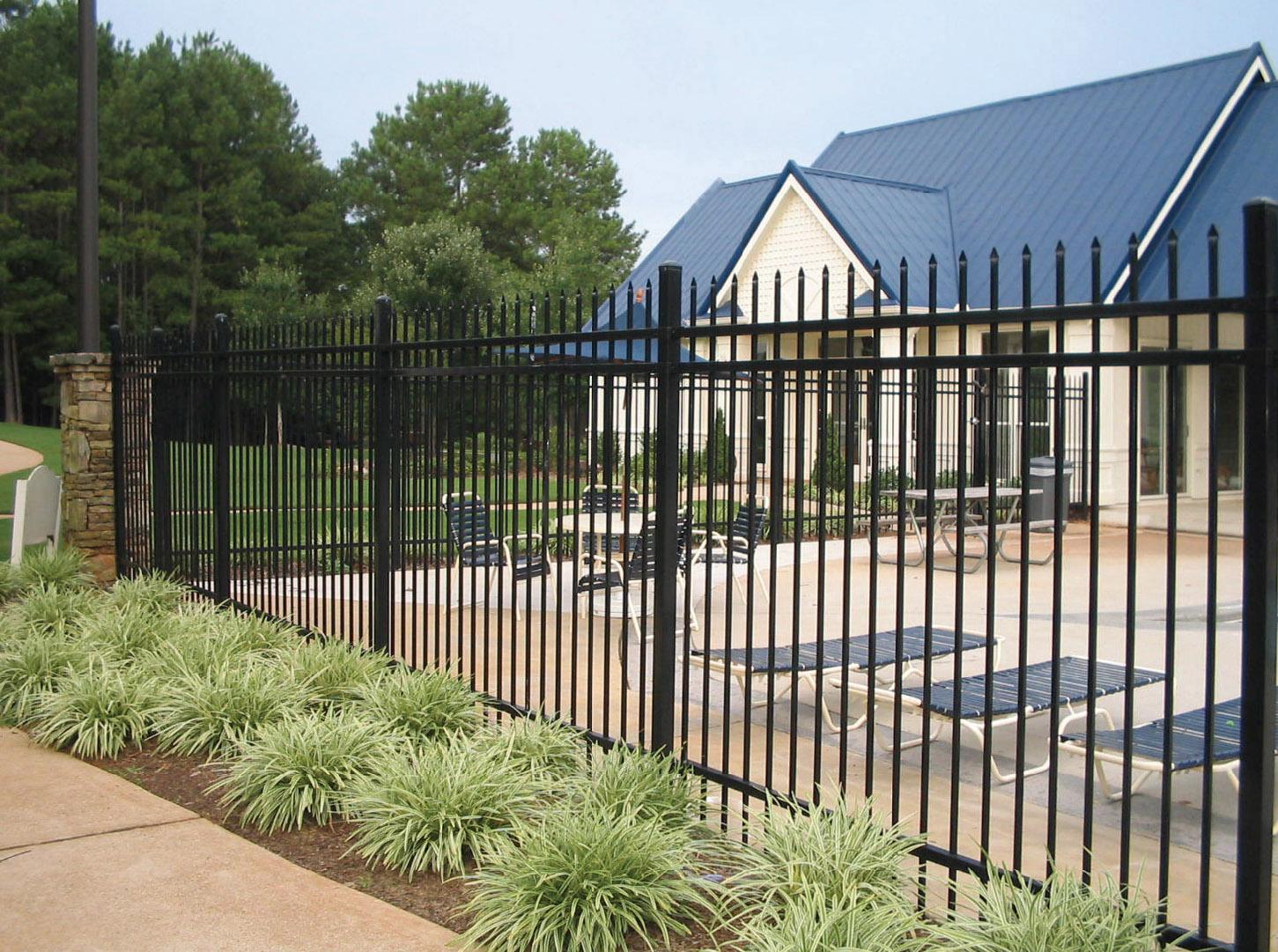Custom Residential Iron Fences Viking Fence